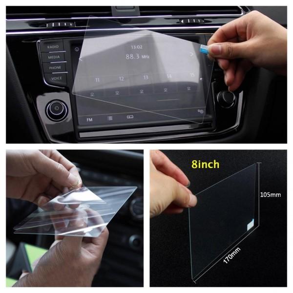 Radio Navi Display Schutz Glass Passend Für VW Golf 7 Passat B8 T-Roc Tiguan 2 8 inch 170x105mm