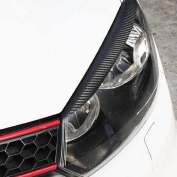 Carbon 3D Folie Böser Blick Passend Für VW Golf 6 GTI GTD R TDI TSI