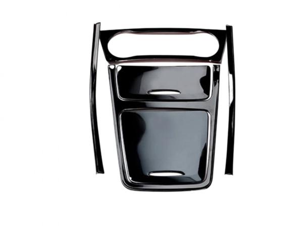 Mittelkonsole Armaturenbrett Veredelung Passend Für Mercedes Benz A Klasse GLA CLA Schwarz