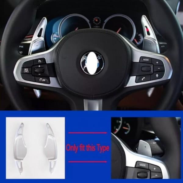 Schaltwippen Verlängerung Paddel Passend Für BMW 5 SERIES G30 G38 7 SERIES G11 G12 X4 F26 M5 F90