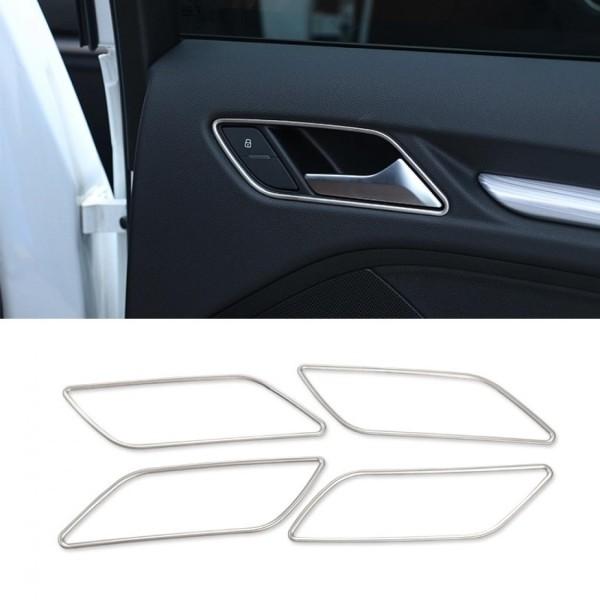 Türgriff Blende Rahmen Edelstahl Passend Für Audi A3 S3 RS3 Sportback 8V1