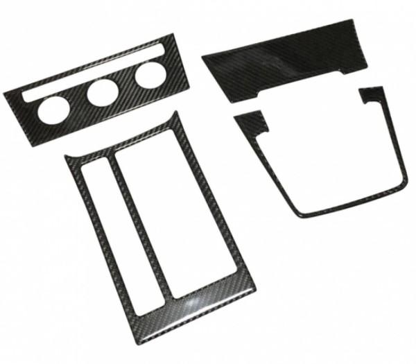 Mittelkonsole Schalttafel Komplett Set Carbon Flex Passend Für VW Golf 7 GTI GTD GTE