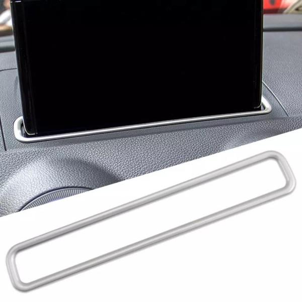 Navigation Monitor Bildschirm Rahmen Abdeckung Passend Für Audi A3 ab 2016