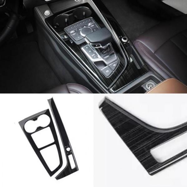 Edelstahl Mittelkonsole Schalttafel Automatikgetriebe Blende Rahmen Passend Für Audi A4 B9