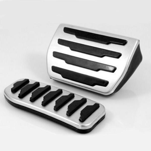 Pedale Pedalkappen aus Edelstahl Passend Für Land Rover Evoque Automatikgetriebe