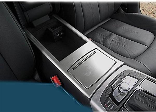 Mittelkonsole Armaturenbrett Veredelung Passend Für Audi A6 A7 Edelstahl Optik