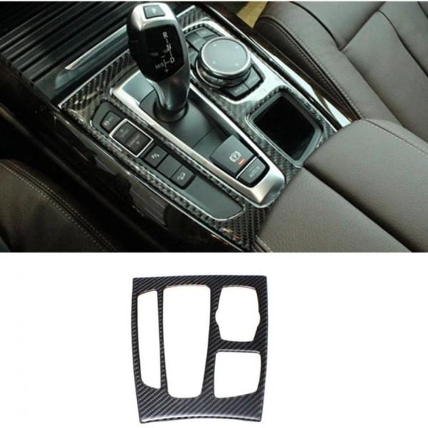 Abdeckung Rahmen Blende Carbon Flex Automatikgetriebe Mittelkonsole Passend Für BMW X5 X6 F15 F16