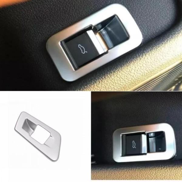 Kofferraum Heckklappe Druckknopf Veredelung Chrom Optik Matt Passend Für Audi Q5 SQ5 FY Ab BJ.2108
