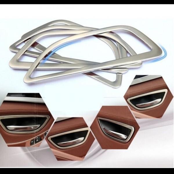 Handgriff Rahmen Matt Edelstahl Passend Für BMW 5er M5 F10 F11 Touring