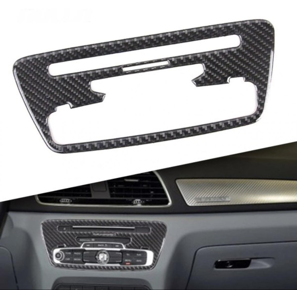 Radio Rahmen Flex Carbon Blende Passend Für Audi Q3 SQ3 8U
