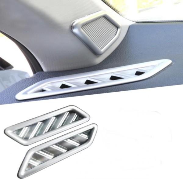 Lüftung Rahmen Blende Abdeckung ABS Chrom Matt Passend Für VW T-Roc TDI TSI