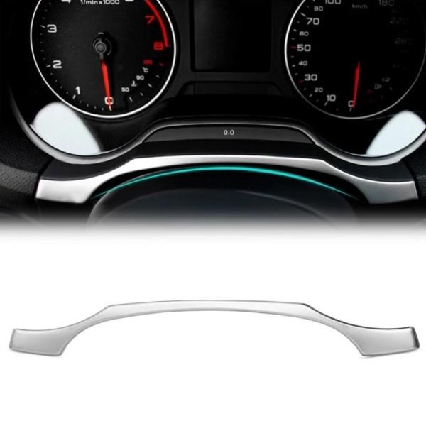 Edelstahl Tacho Blende Rahmen Abdeckung Audi Passend Für A3 8V ab 2016