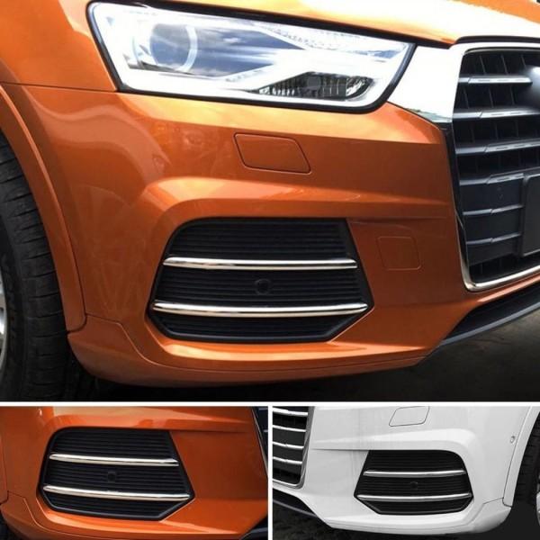 Lufteinlass Leisten Chrom Abdeckung Passend Für Audi Q3 SQ3 8U