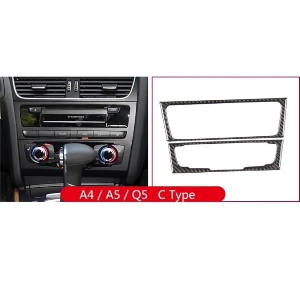 Radio Klima Flex Carbon Blende Passend Für Audi A4 S4 RS4 B8 Q5 SQ5 8R