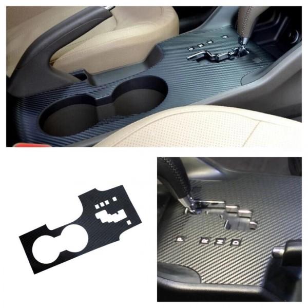 3D Carbon Folie für Automatikgetriebe Mittelkonsole Armaturenbrett Passend Für Hyundai iX35