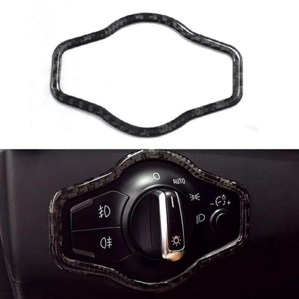 Lichtschalter Flex Carbon Rahmen Blende Passend Für Audi A4 S4 RS4 B8 A5 S5 RS5 Q5 SQ5