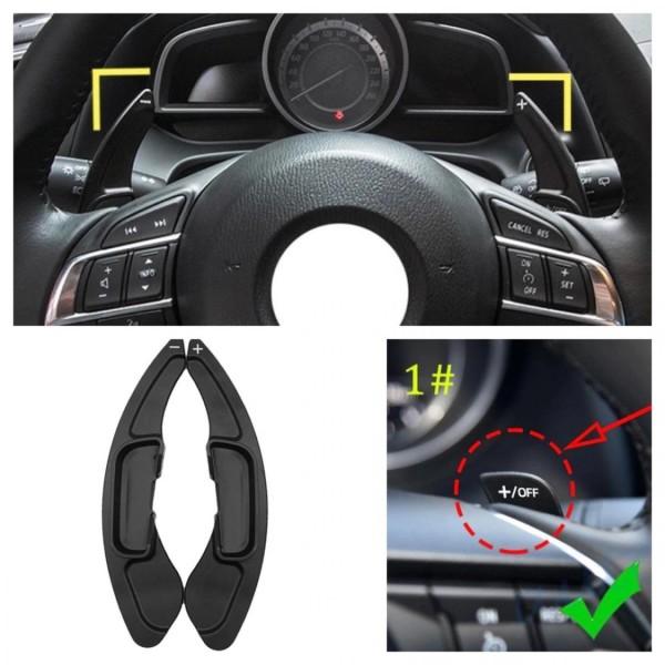 Schaltwippen Verlängerung Shift Paddels Passend Für Mazda 3 6 CX-3 CX-4 CX-5 MX-5 Atenza Axelain