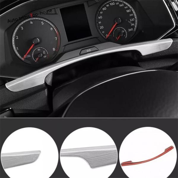 Lenkrad Rahmen Blende Abdeckung Edelstahl Matt Passend Für VW T-Roc TDI TSI