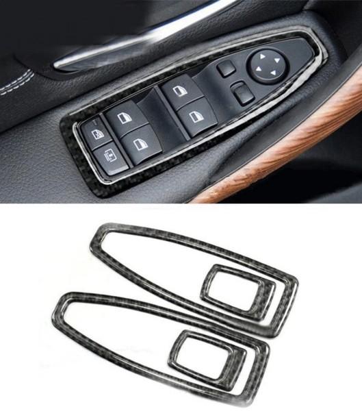 Fensterheber Rahmen Carbon Flex Passend Für BMW 3er F30 F31 F34 3GT 1er F20 4er F36