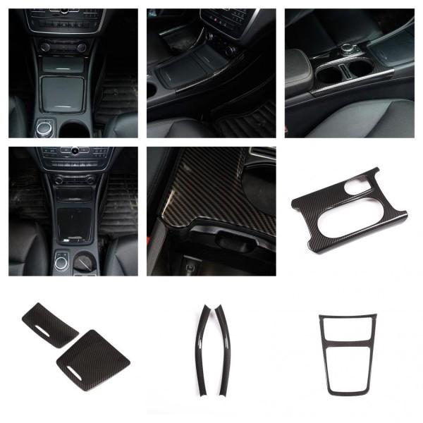 Mittelkonsole Armaturenbrett  Veredelung Passend Für Mercedes Benz A Klasse GLA CLA