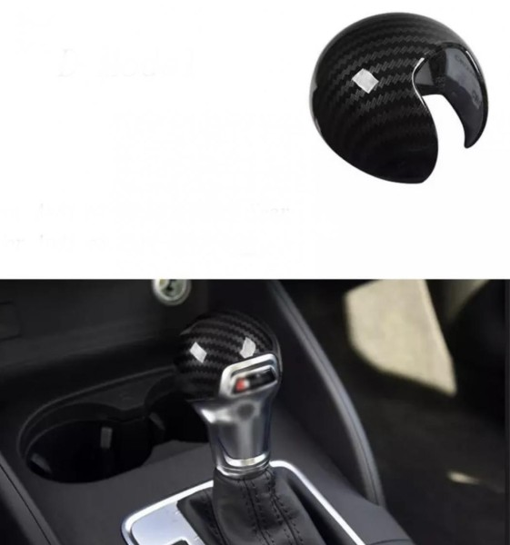 Schaltknauf Carbon Optik Abdeckung Blende Passend Für Audi A3 S3 8V Sline TSI TDI