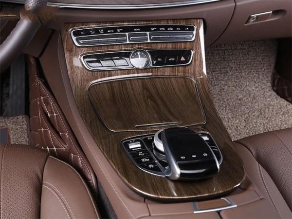 Mittelkonsole Armaturenbrett Passend Für Mercedes Benz E Klasse W213 S213 Nussbaum Optik