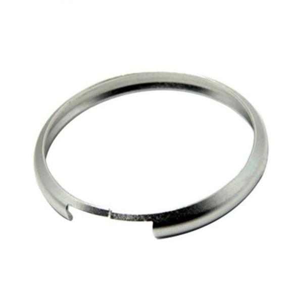 Autoschlüssel Zündschlüssel Alu Ring Passend Für Mini Cooper Silber