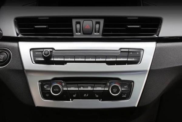 Klima Radio Rahmen Blende Abdeckung Passend Für BMW X1 F48