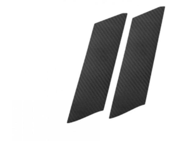 3D Carbon Folie für Handgriffen Passend Für VW Golf 7 Zwei Türen in Schwarz