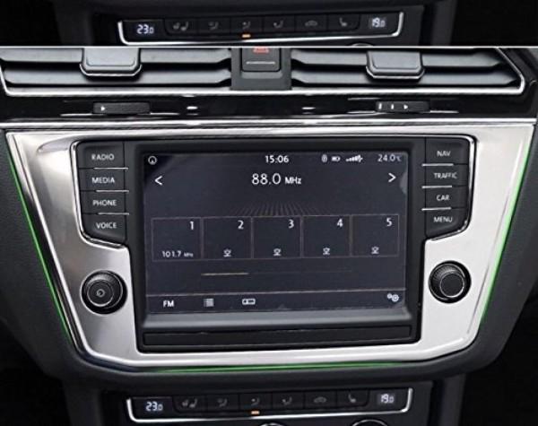 Radioblende Rahmen Abdeckung Passend Für VW Tiguan 2 AD1