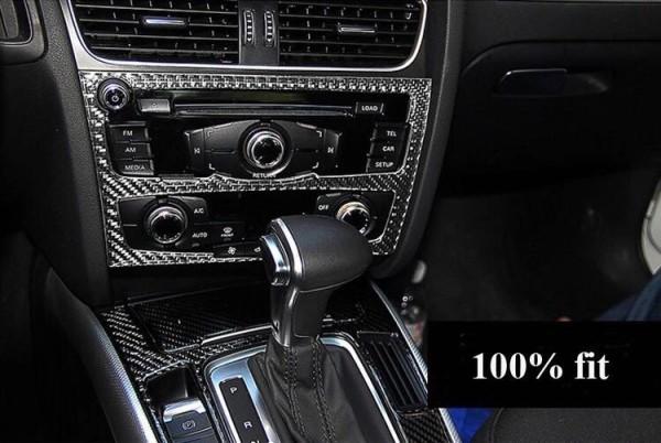 Radio Heizung Rahmen Flex Carbon Abdeckung Passend Für Audi Audi A4 B8 S4 RS4 A5 S5 RS5 Q5 SQ5