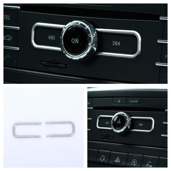 Radio Armaturenbrett Veredelung Passend Für Mercedes Benz A B C E Klasse CLA GLA GLE