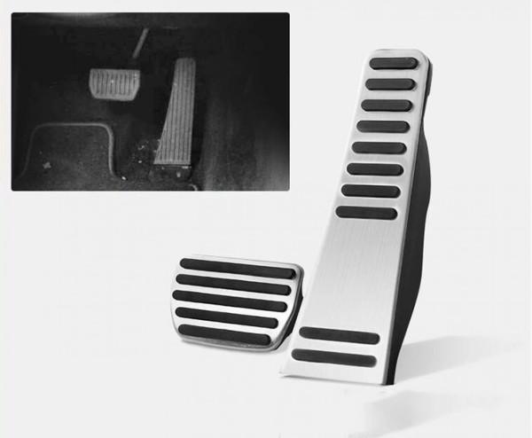 Pedale Pedalkappen aus Edelstahl Passend Für Volvo XC90 V90 S90 XC60 Automatik Getriebe