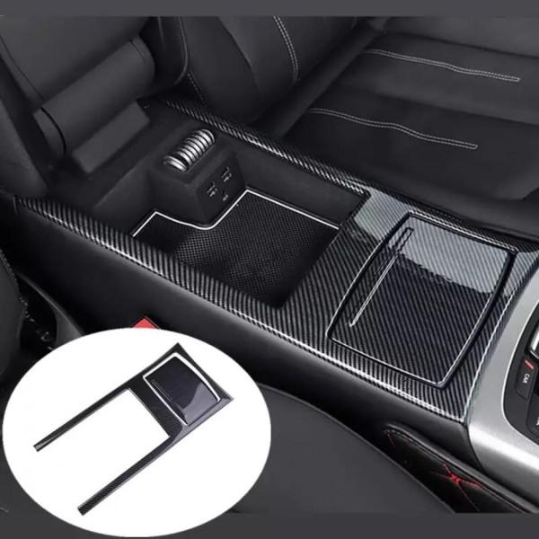 Edelstahl Carbon Optik Mittelkonsole Armaturenbrett Veredelung Passend Für Audi A6 A7