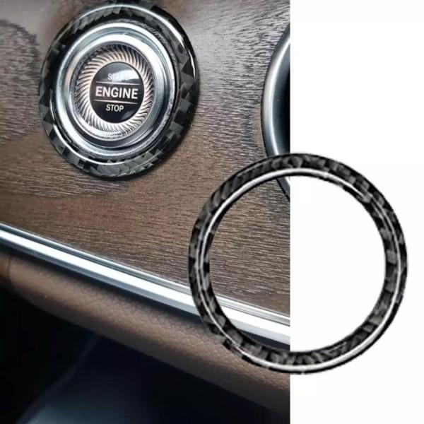 Carbon Optik Zündung Ringe Rahmen Passend Für Mercedes Benz E W213 S213 C W205 S205 GLC X253