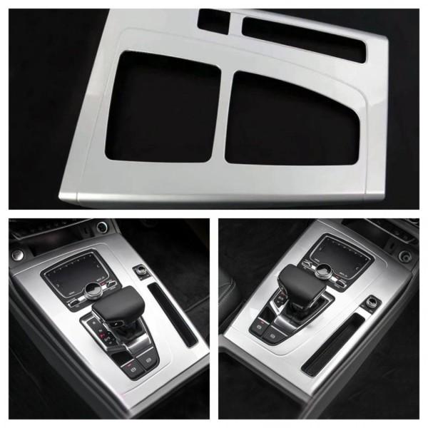 Mittelkonsole Armaturenbrett Veredelung Silber Matt Passend Für Audi Q5 SQ5 FY Ab BJ.2108