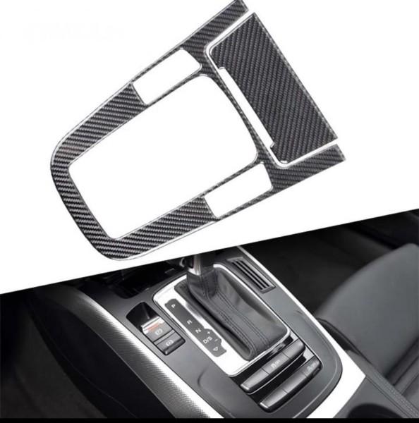 Mittelkonsole Schaltknauf Abdeckung Passend Für Audi A4 A5 Q5 Flex Carbon