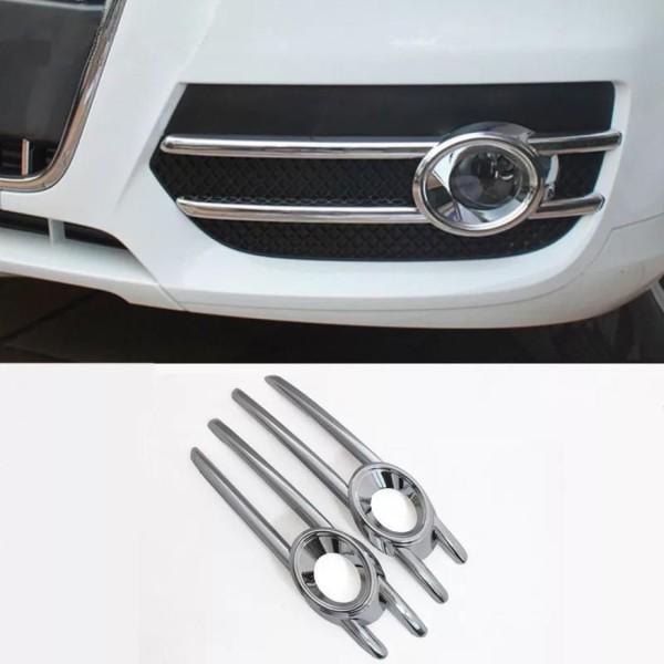 Chrome Nebelscheinwerfer Blende Abdeckung Passend Für Audi Q3 8U Ab Bj.2013
