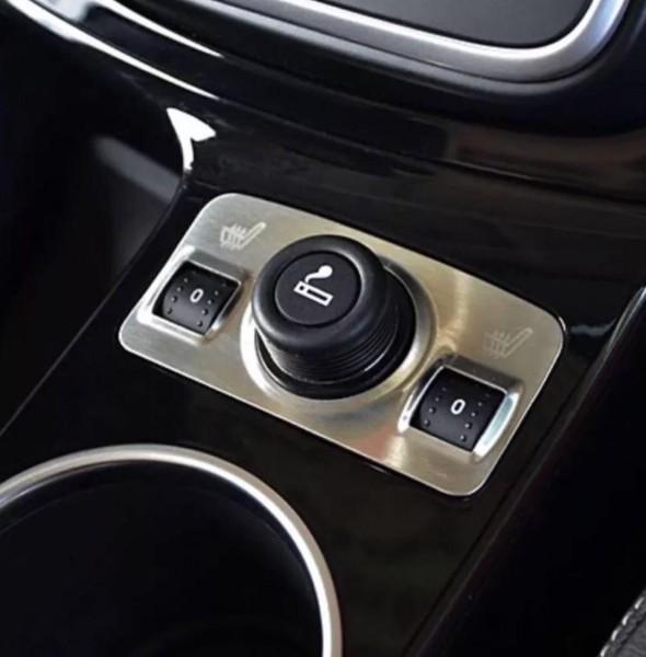 Sitzheizung Zigarettenanzünder Blende Rahmen Edelstahl Passend Für Ford Kuga