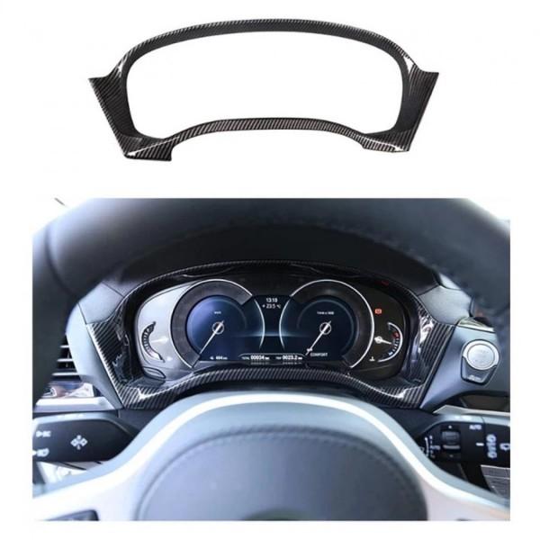 Tacho Rahmen Blende Abdeckung Carbon Optik Passend Für BMW X3 G01 X4 G02