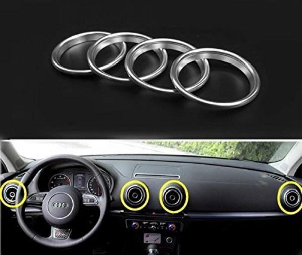 Luftdüsen Abdeckung Lüftungsrahmen Blende Passend Für Audi A3 S3 RS3