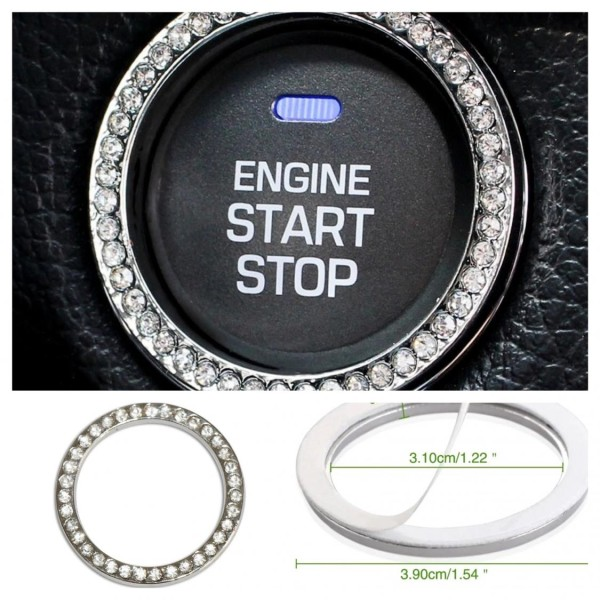 Start Stop Ring Rahmen Blende Passend Für Mercedes Benz AMG A B C E S CLS CLK SLK W203 W204 W210 W211 W212