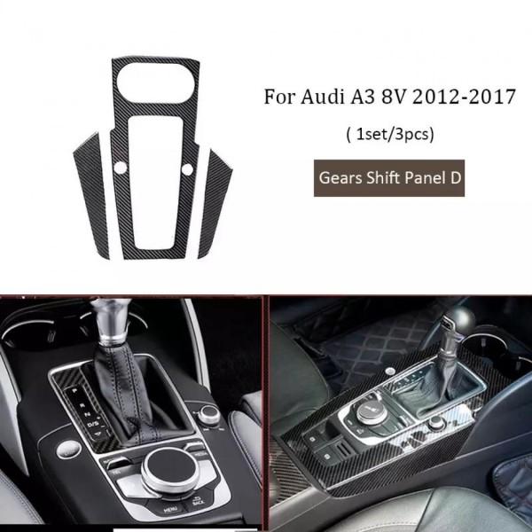 Mittelkonsole Schalttafel Flex Carbon Passend Für Audi A3 RS3 S3 V8