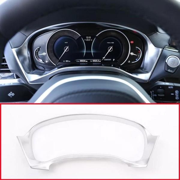 Tacho Rahmen Blende Abdeckung Chrom Matt Optik Passend Für BMW X3 G01 X4 G02
