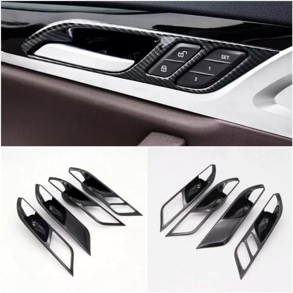 Türgriff Schalen Rahmen Blende Carbon Matt Optik Passend Für BMW X3 G01