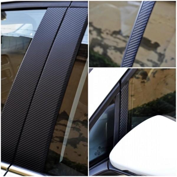 Set Carbon Folie A / B / C Säule Passend Für VW Golf 7 MK7