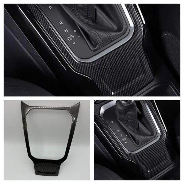 Edelstahl Mittelkonsole Schaltknauf Rahmen Blende Abdeckung Passend Für VW T-Roc TDI TSI