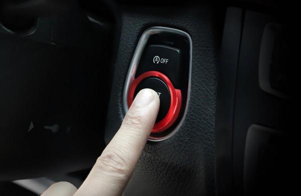 Start Stop Ring in Rot Passend Für BMW 2er 3er F30 F20