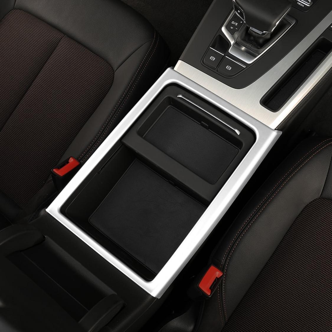 Radioblende Armaturenbrett Passend Für Audi A4 B8 Q5 SQ5 Sline Edelstahl Optik