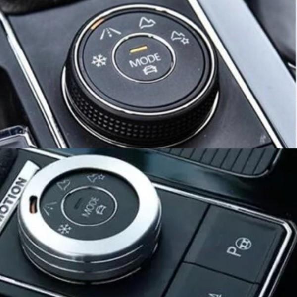 Alu Ring Rahmen Blende Abdeckung Passend Für VW Tiguan 2 Allspace T-Roc T-Cross Touran 4Motion